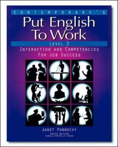 9780809233588: Put English To Work: Level 2