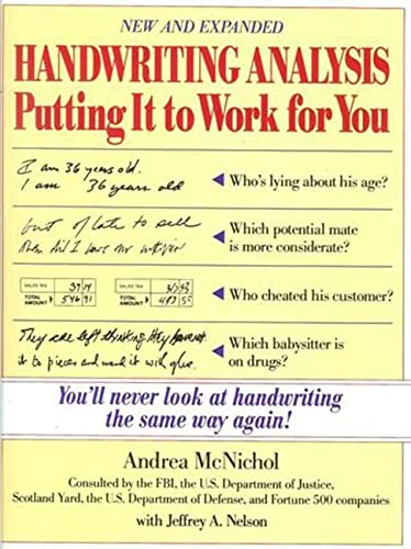 9780809235667: Handwriting Analysis: Putting It to Work for You