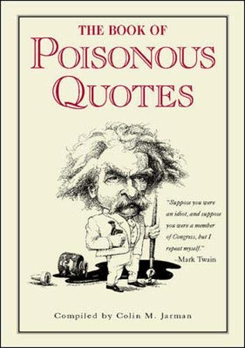9780809236817: The Book of Poisonous Quotes