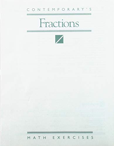 9780809236923: Math Exercises: Fractions - 10 Pack