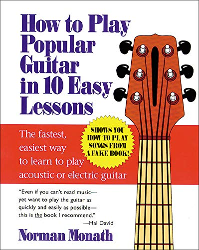 9780809237654: How to Play Popular Guitar in 10 Easy Lessons