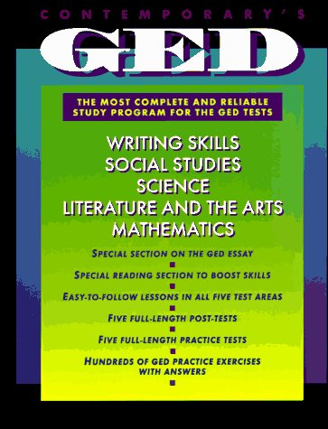 9780809237777: Contemporary's GED: The Most Complete and Reliable Study Program for the GED Tests