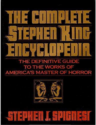 9780809239115: Complete Stephen King Encyclopedia