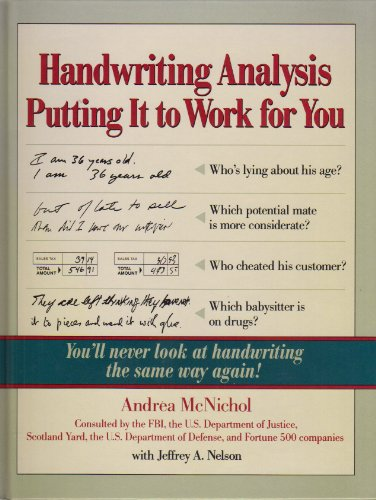 9780809240234: Handwriting Analysis: Putting It to Work For You