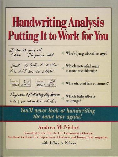 9780809240234: Handwriting Analysis