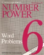 Contemporary's Number Power 6: Word Problems (0809240246) by Kenneth Tamarkin