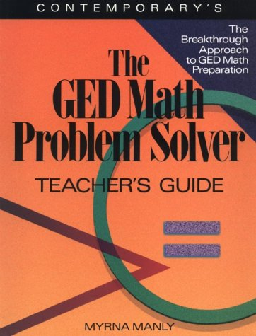 9780809240494: Ged Math Problem Solver: Reasoning Skills to Past the Test/Teachers Guide