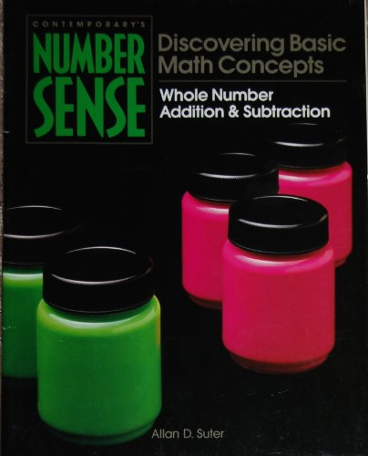 9780809242344: Whole Number Addition and Subtraction (Contemporary's Number Sense)