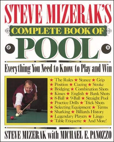 Steve Mizerak's Complete Book of Pool: Mizerak, Steve;Panozzo, Michael E.