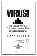 Virus !: The Secret World of Computer: Allan Lundell