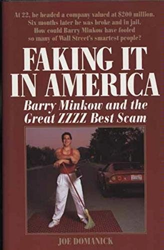 9780809244973: Faking It in America: Barry Minkow and the Great ZZZZ Best Scam