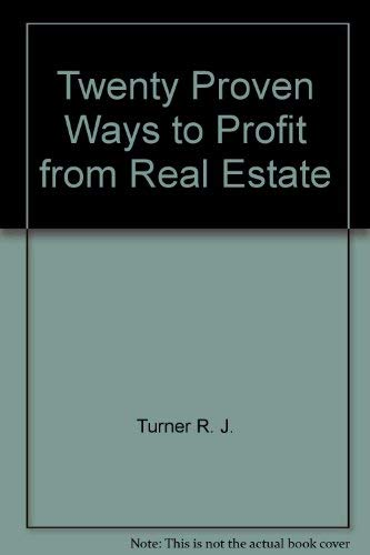 9780809245024: Twenty proven ways to profit from real estate