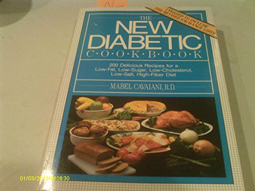 The New Diabetic Cookbook: Cavaiani, Mabel