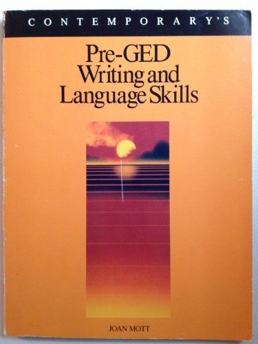 9780809248988: Pre-Ged Writing and Language Skills (Contemporary's Pre-Ged Series)