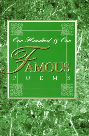 9780809250967: One Hundred and One Famous Poems