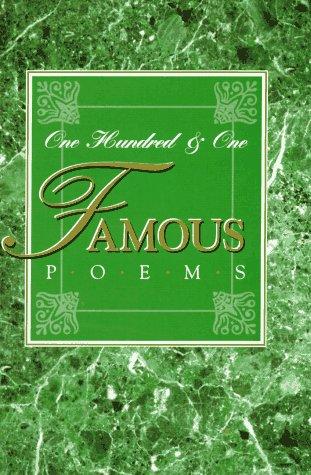 9780809250967: 101 Famous Poems