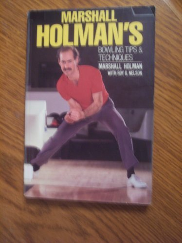 9780809253241: Marshall Holman's Bowling Tips and Techniques