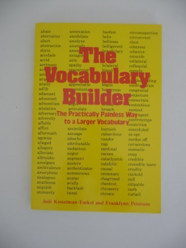 The Vocabulary Builder (0809256509) by Judi Kesselman-Turkel