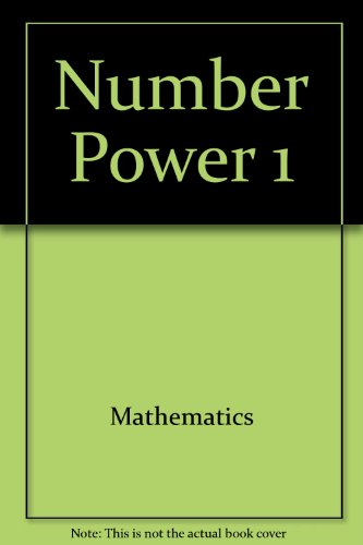 Number Power 1 (0809257122) by Jerry Howett