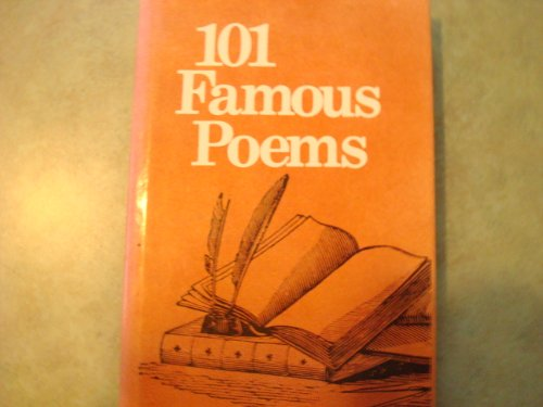 9780809258338: 101 Famous Poems With a Prose Supplement