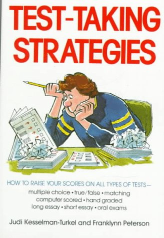 Test Taking Strategies (0809258501) by Judi Kesselman-Turkel