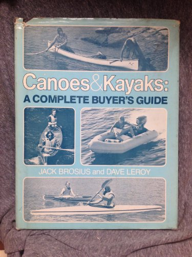 9780809276912: Canoes & kayaks: A complete buyer's guide