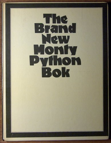 9780809280469: The Brand New Monty Python Bok