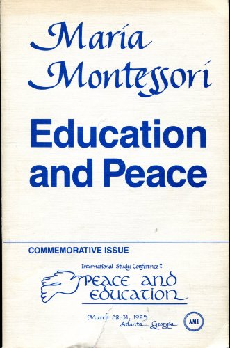 9780809282302: Education and Peace