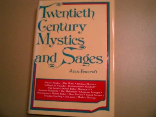 9780809284078: Twentieth Century Mystics and Sages