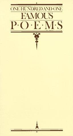 9780809288342: 101 Famous Poems