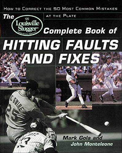 9780809298020: The Louisville Slugger® Complete Book of Hitting Faults and Fixes : How to Detect and Correct the 50 Most Common Mistakes at the Plate