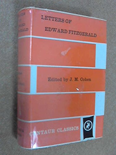 Letters of Edward Fitzgerald: n/a