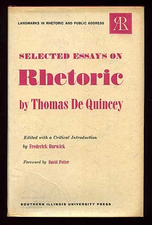 9780809302628: Selected Essays on Rhetoric