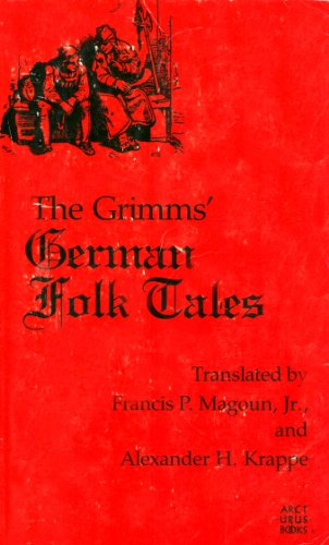 9780809303564: German Folk Tales: Collected and Edited by the Grimm Brothers