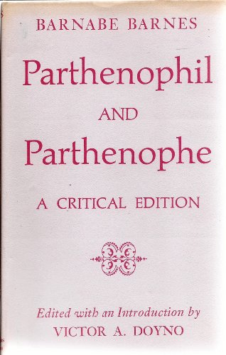 9780809304660: Parthenophil and Parthenophe: A Critical Edition