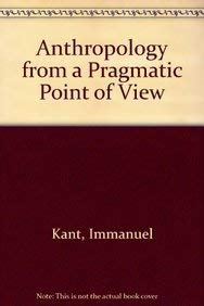 kant anthropology from a pragmatic point of view pdf