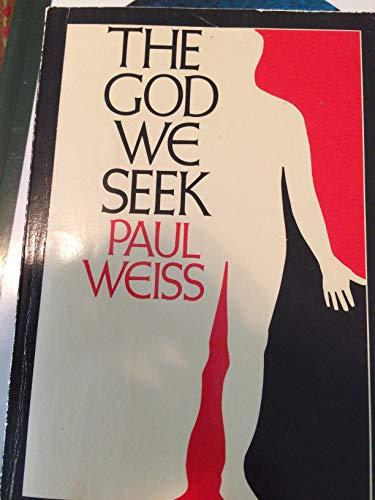 9780809306282: The God We Seek (Arcturus Books, Ab111)