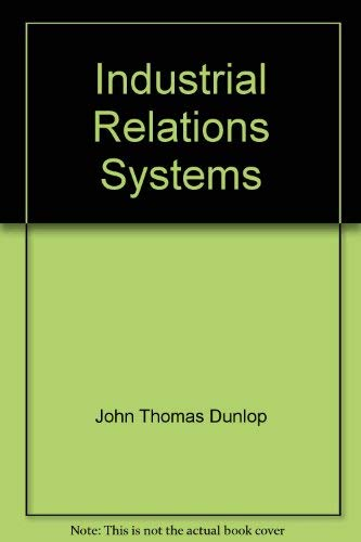 9780809308507: Industrial Relations Systems