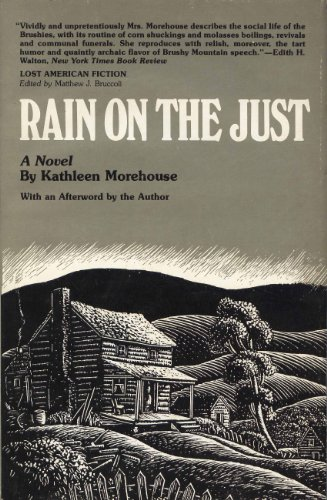 9780809309450: Rain on the Just (Lost American Fiction)