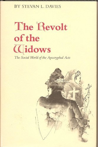 9780809309580: The Revolt of the Widows: The Social World of the Apocryphal Acts