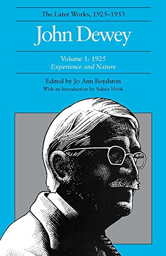 9780809309863: John Dewey the Later Works, 1925-1953, Vol. 1
