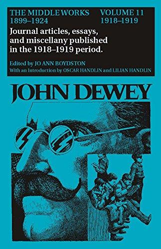 The Middle Works of John Dewey, Volume: John Dewey