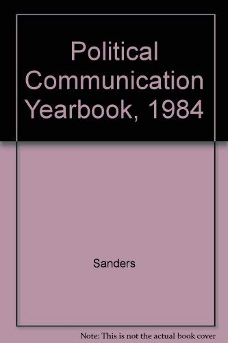 9780809311835: Political Communication Yearbook, 1984