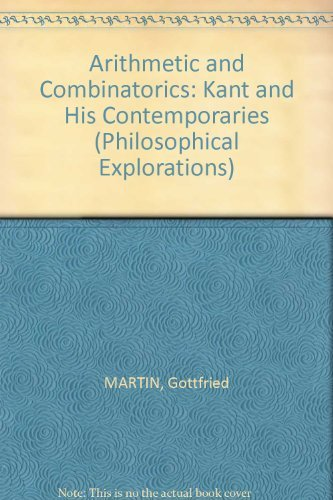 9780809311842: Arithmetic and Combinatorics (Philosophical Explorations)