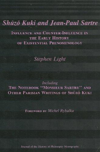 Shuzo Kuki and Jean-Paul Sartre: Influence and: Stephen Light