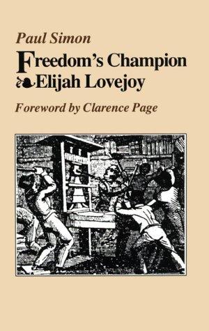 9780809319404: Freedom's Champion: Elijah Lovejoy