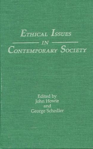 9780809319718: Ethical Issues in Contemporary Society