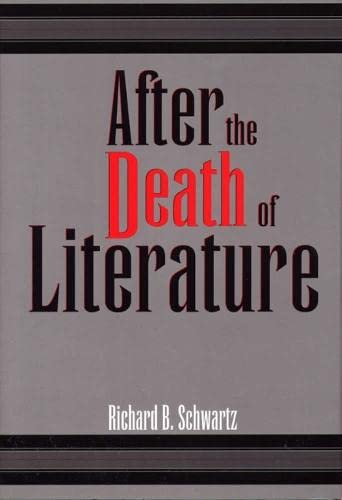 9780809321360: After the Death of Literature