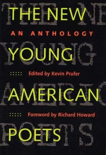 9780809323098: The New Young American Poets: An Anthology (Crab Orchard Series in Poetry)