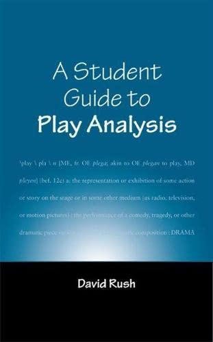 9780809326082: A Student Guide to Play Analysis